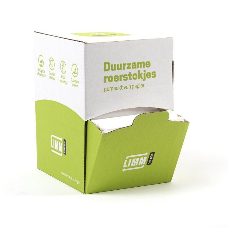 Duurzame papieren roerstaafjes bestellen